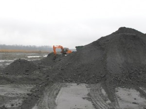 Ash removed from Santee Cooper's coal ash impoundments will be responsibly recycled or disposed of in lined, dry storage away from waterways.